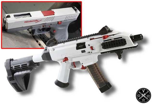 5)Раскрашенное оружие