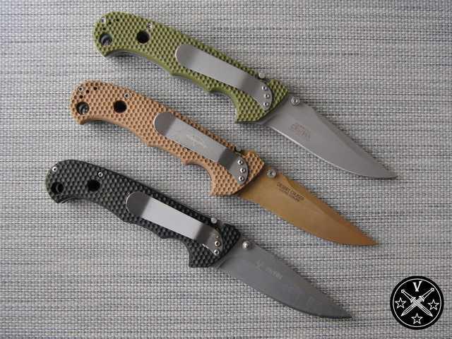 3)Реинкарнация ножа Джима Хаммонда «Странник» CRKT