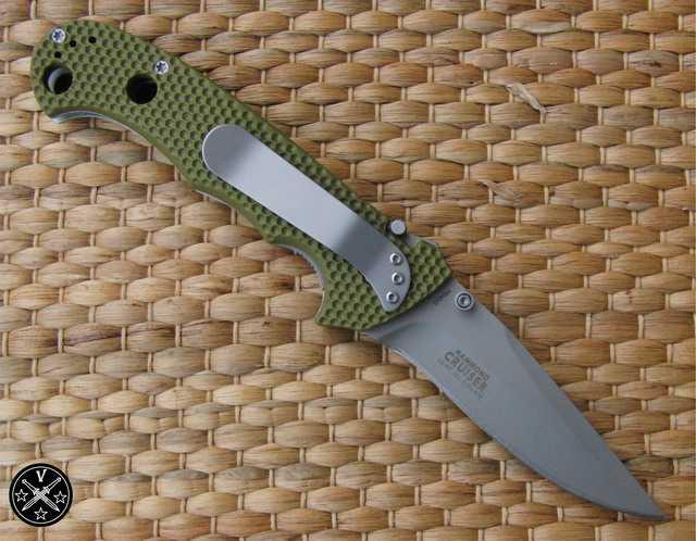 6)Реинкарнация ножа Джима Хаммонда «Странник» CRKT