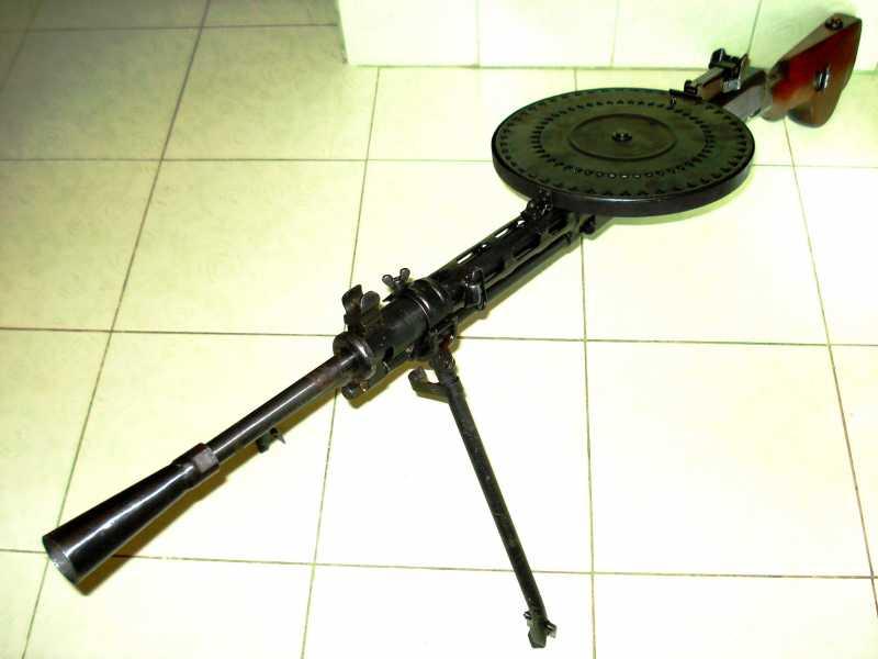 3)Обзор «деактива» ММГ ДП-27 от «ЗиД»