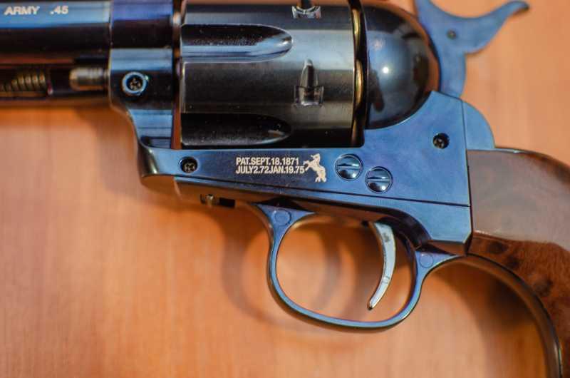 8)Обзор и впечатления о Umarex Colt Single Action Army (Миротворец, Фронтир, Шестизарядник)
