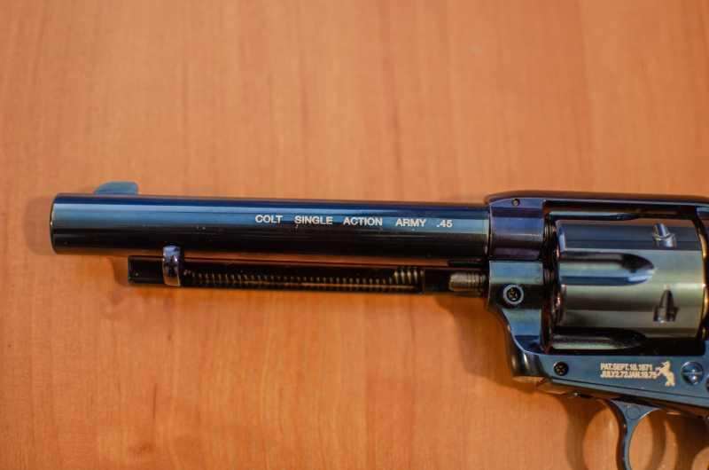 9)Обзор и впечатления о Umarex Colt Single Action Army (Миротворец, Фронтир, Шестизарядник)
