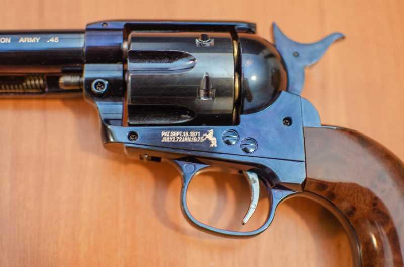 11)Обзор и впечатления о Umarex Colt Single Action Army (Миротворец, Фронтир, Шестизарядник)
