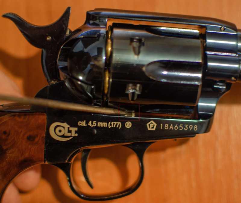 15)Обзор и впечатления о Umarex Colt Single Action Army (Миротворец, Фронтир, Шестизарядник)
