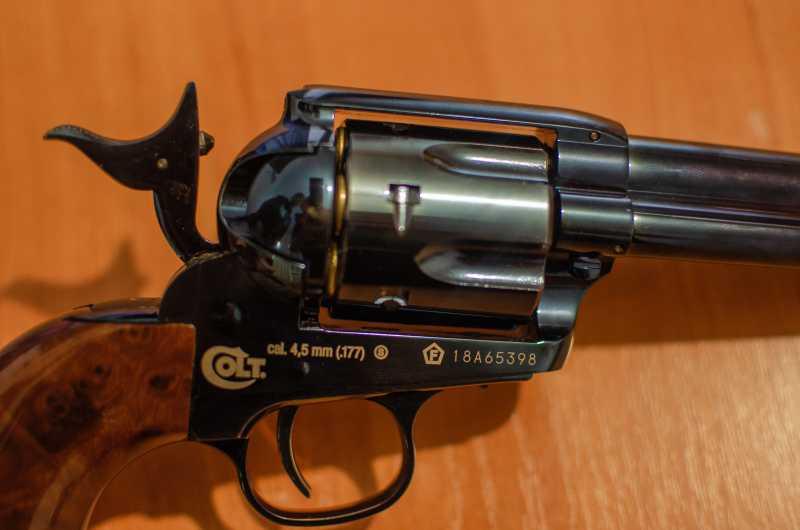 16)Обзор и впечатления о Umarex Colt Single Action Army (Миротворец, Фронтир, Шестизарядник)
