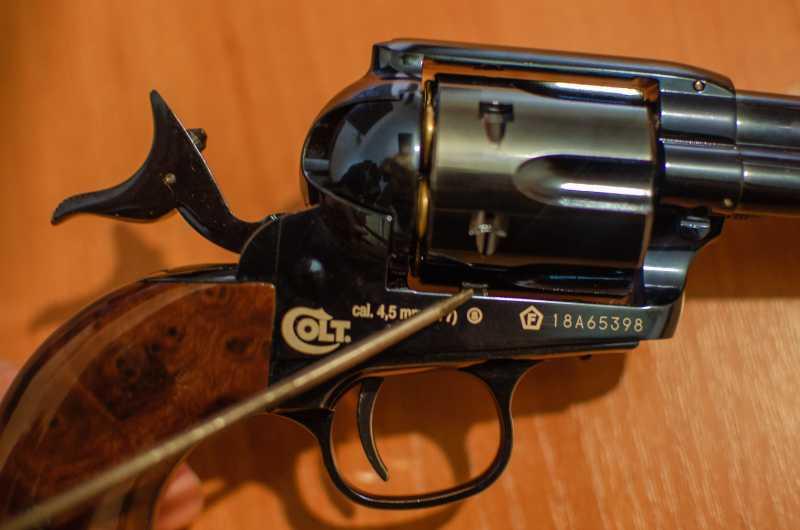 17)Обзор и впечатления о Umarex Colt Single Action Army (Миротворец, Фронтир, Шестизарядник)