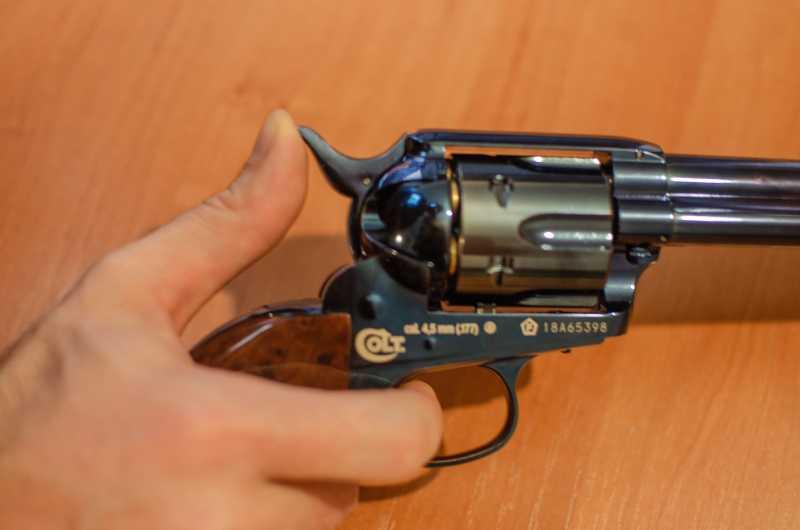 22)Обзор и впечатления о Umarex Colt Single Action Army (Миротворец, Фронтир, Шестизарядник)