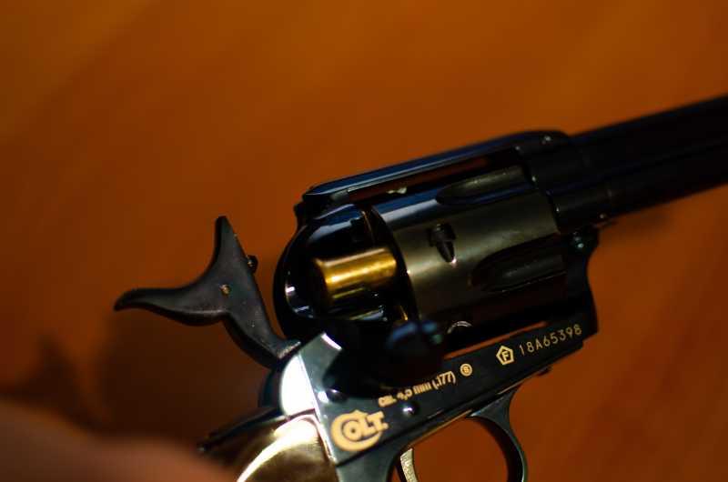 24)Обзор и впечатления о Umarex Colt Single Action Army (Миротворец, Фронтир, Шестизарядник)