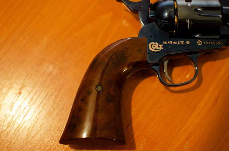 34)Обзор и впечатления о Umarex Colt Single Action Army (Миротворец, Фронтир, Шестизарядник)
