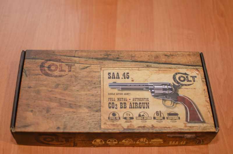 1)Обзор и впечатления о Umarex Colt Single Action Army (Миротворец, Фронтир, Шестизарядник)