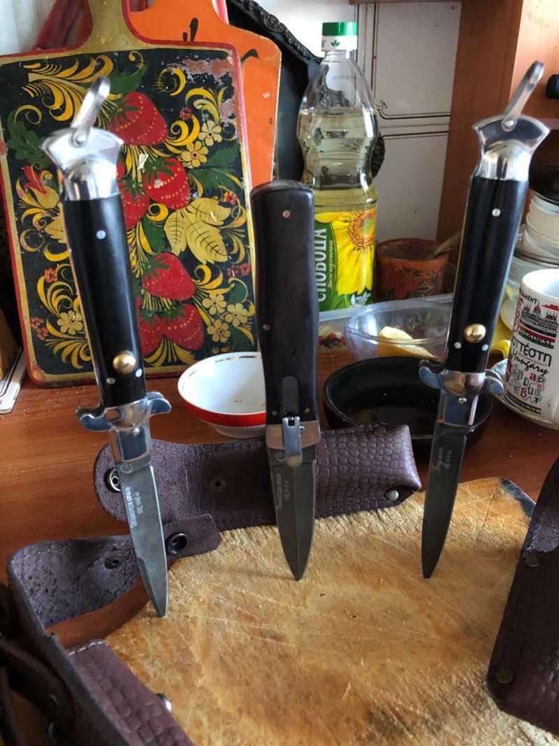 5)Ножи автоматы из Ворсмы