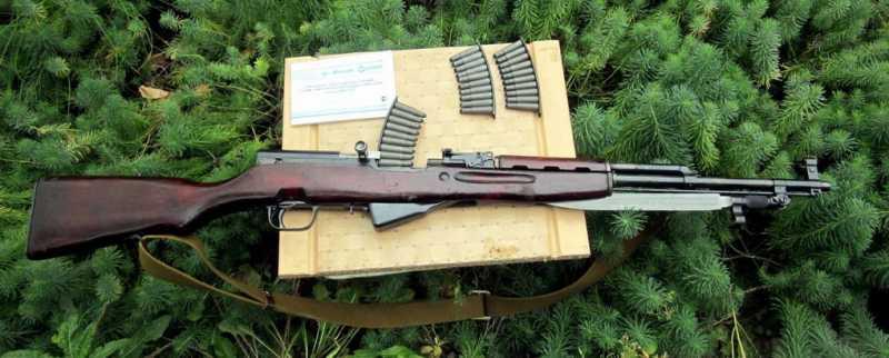 Аутентичное охолощенное оружие