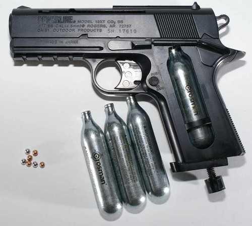 Виды пневматический пистолетов
