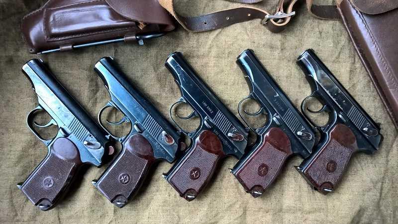 Служебное оружие в магазине Air-Gun