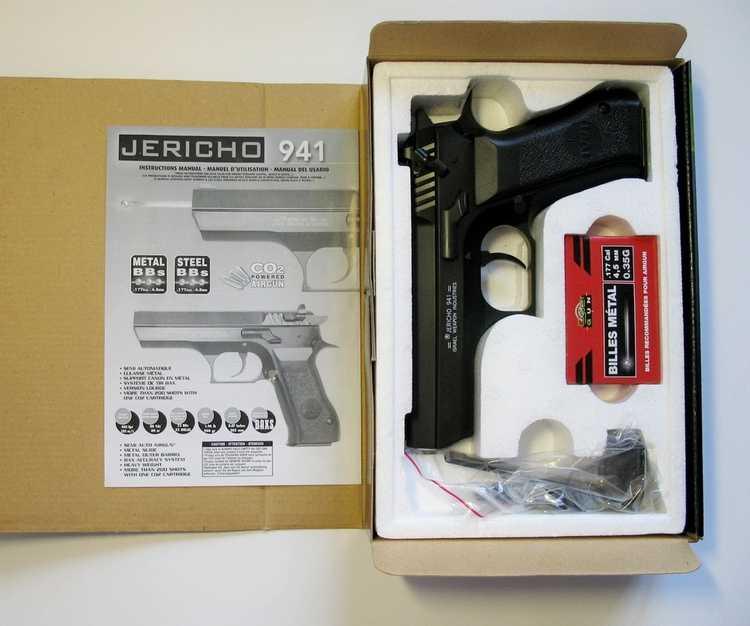 2)Пневматический пистолет Cybergun Jericho 941: Взгляд и первое знакомство.