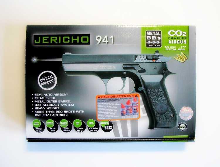 1)Пневматический пистолет Cybergun Jericho 941: Взгляд и первое знакомство.