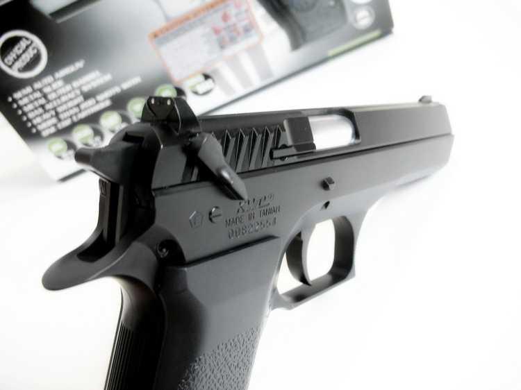 11)Пневматический пистолет Cybergun Jericho 941: Взгляд и первое знакомство.