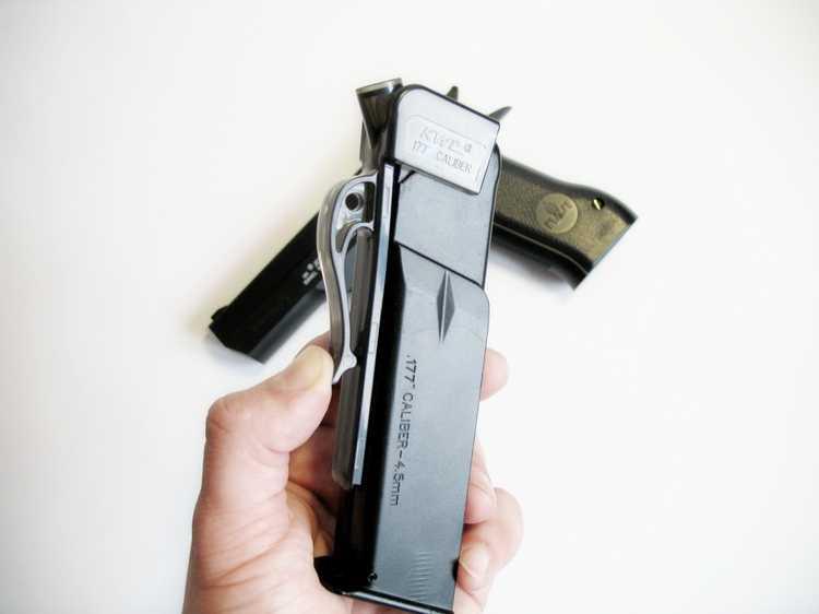 14)Пневматический пистолет Cybergun Jericho 941: Взгляд и первое знакомство.