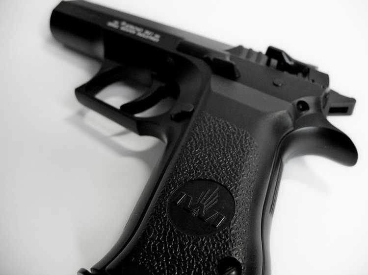 21)Пневматический пистолет Cybergun Jericho 941: Взгляд и первое знакомство.