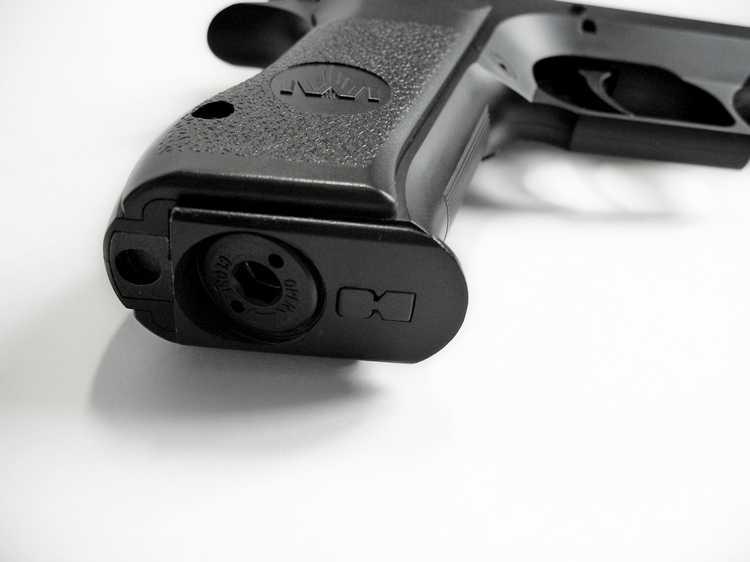 23)Пневматический пистолет Cybergun Jericho 941: Взгляд и первое знакомство.
