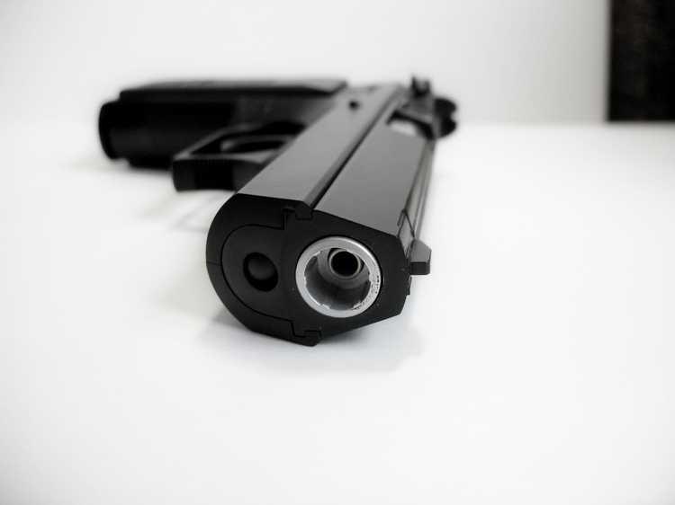 24)Пневматический пистолет Cybergun Jericho 941: Взгляд и первое знакомство.