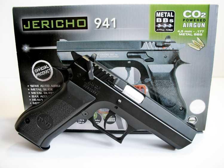 6)Пневматический пистолет Cybergun Jericho 941: Взгляд и первое знакомство.
