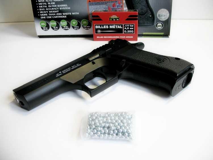 7)Пневматический пистолет Cybergun Jericho 941: Взгляд и первое знакомство.