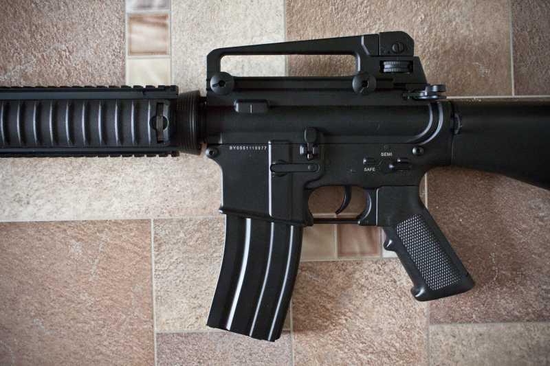 4)D-Boys - M16А4 R.I.S. (0041-369-5581M)