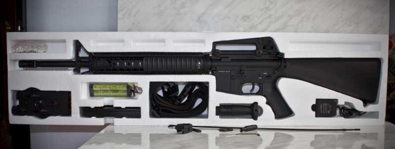 3)D-Boys - M16А4 R.I.S. (0041-369-5581M)