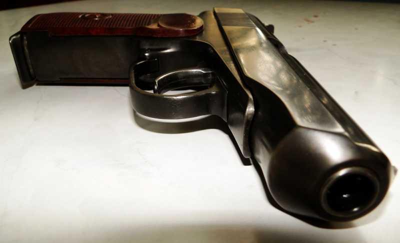 3)Внешний тюнинг пневматического пистолета МР-654К (МР-654К UPGRADE - external improvement)
