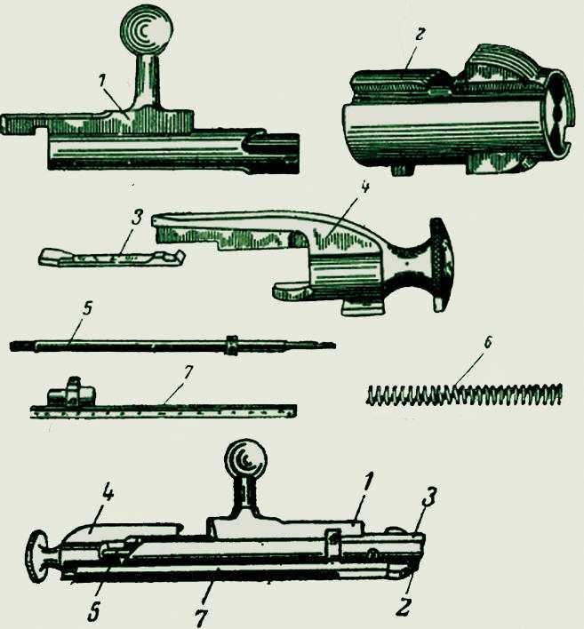 7)7,62-мм магазинная винтовка системы Мосина