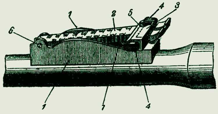 9)7,62-мм магазинная винтовка системы Мосина