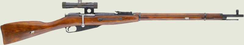 10)7,62-мм магазинная винтовка системы Мосина