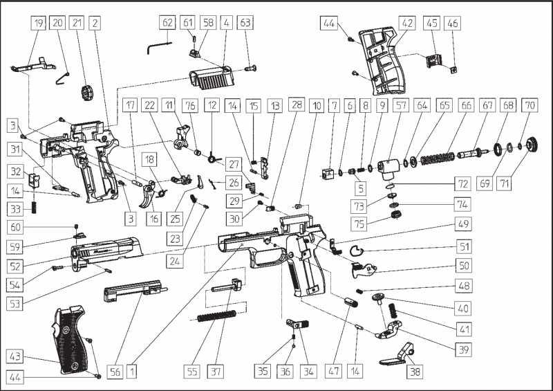 8)Взрыв-схемы и коды запчастей пистолетов (Umarex)