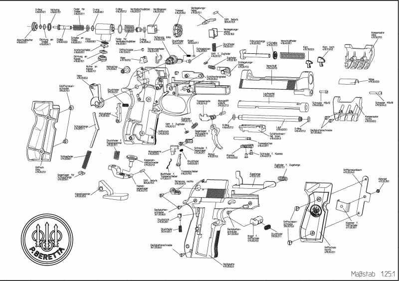 1)Взрыв-схемы и коды запчастей пистолетов (Umarex)