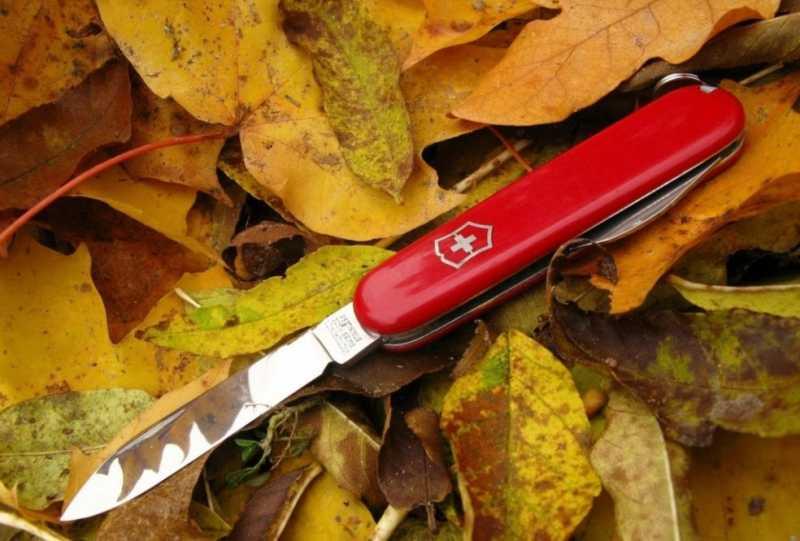 1)История швейцарского ножа.