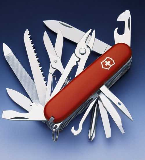 5)История швейцарского ножа.