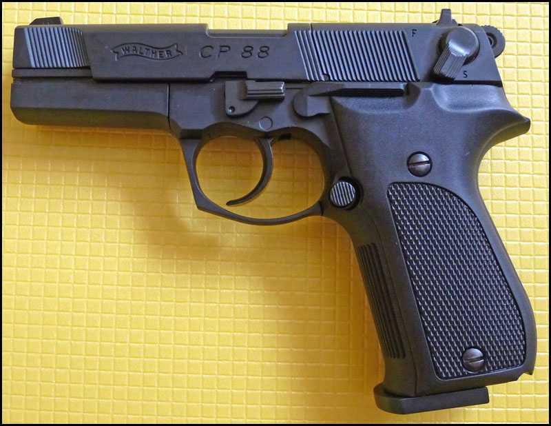 1)Обзор пистолета Umarex Walther CP88