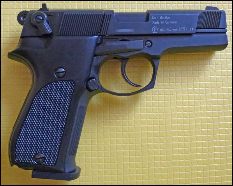 2)Обзор пистолета Umarex Walther CP88