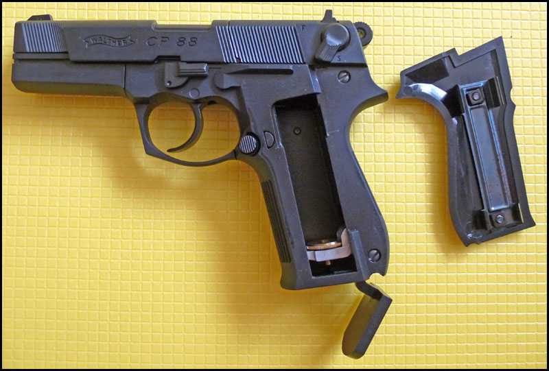 7)Обзор пистолета Umarex Walther CP88