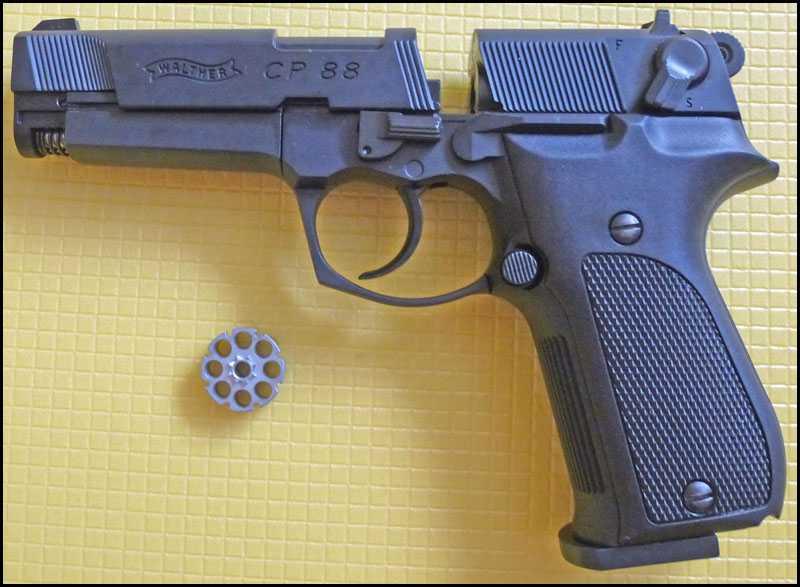 9)Обзор пистолета Umarex Walther CP88