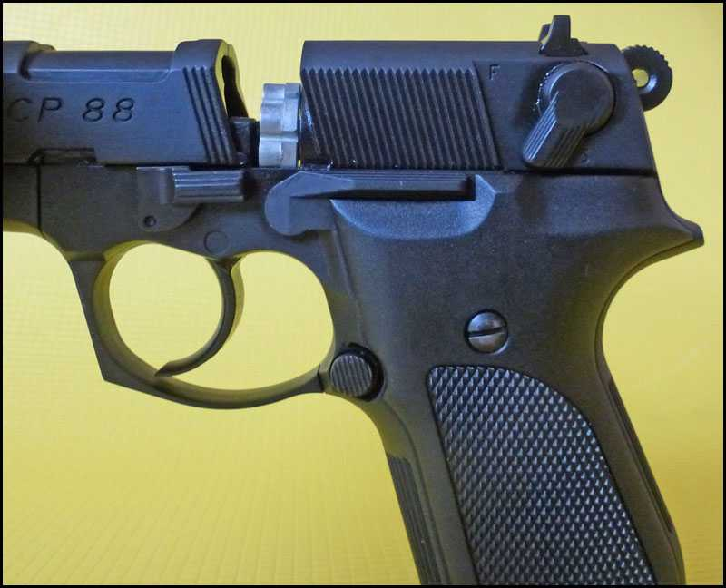 11)Обзор пистолета Umarex Walther CP88