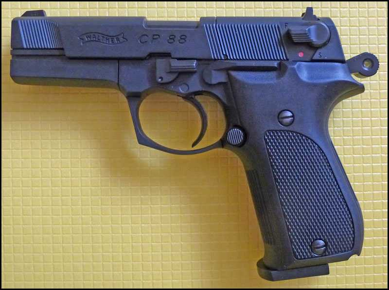 12)Обзор пистолета Umarex Walther CP88