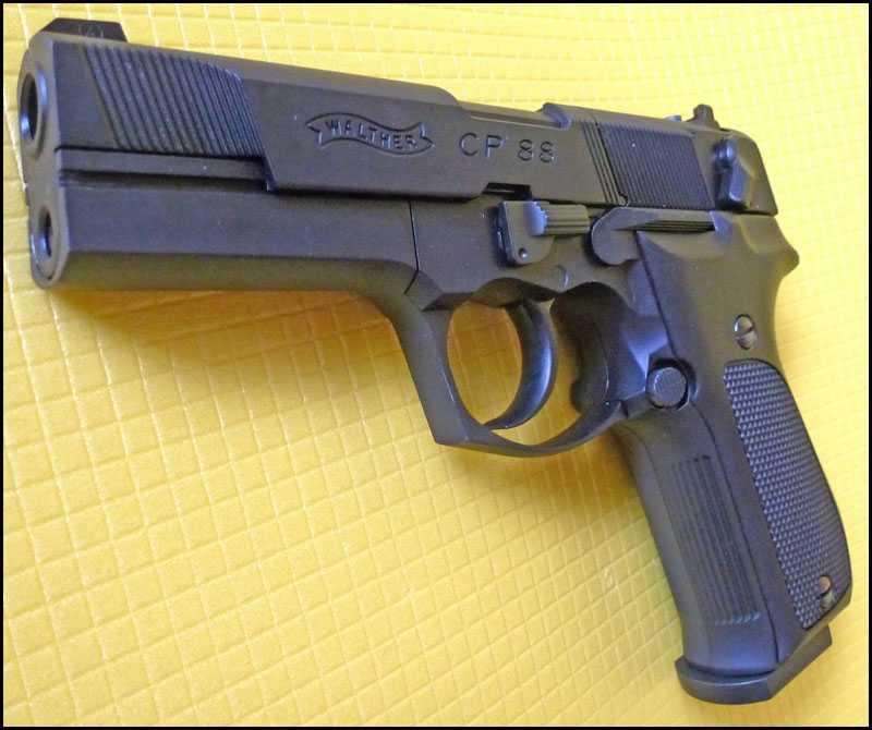 17)Обзор пистолета Umarex Walther CP88