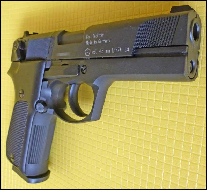 18)Обзор пистолета Umarex Walther CP88