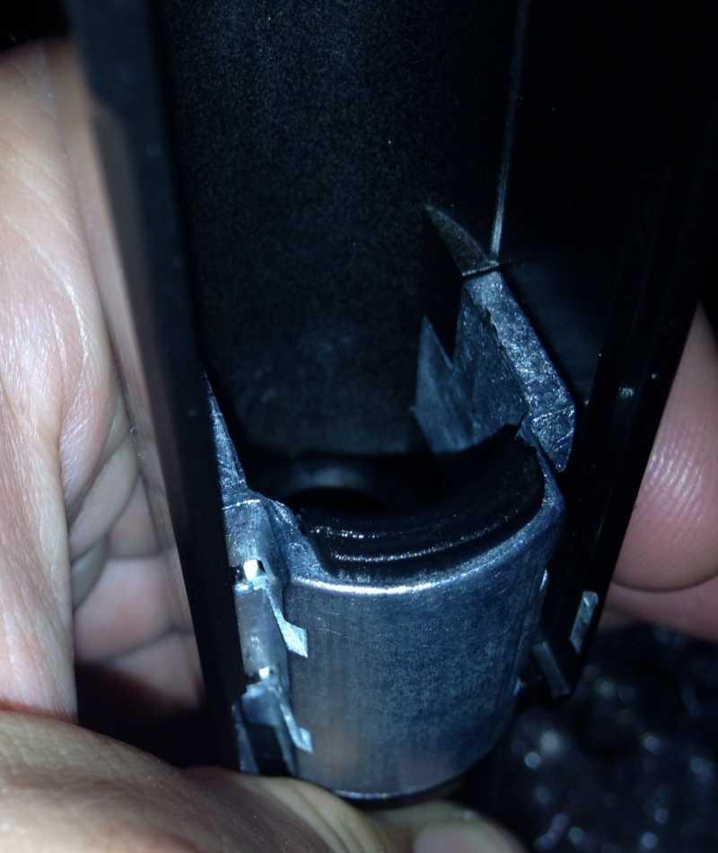 9)Гарантийный ремонт Gletcher APS. Затвор нового образца!!!