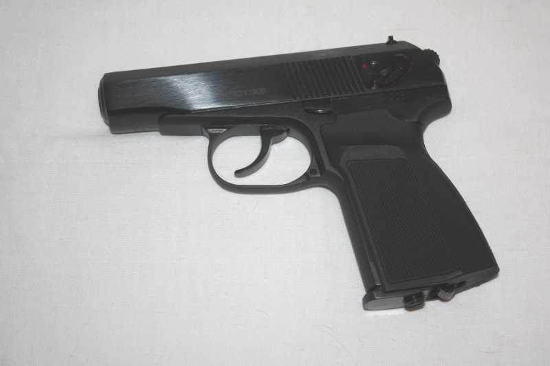 34)Разновидности пистолета МР-654к