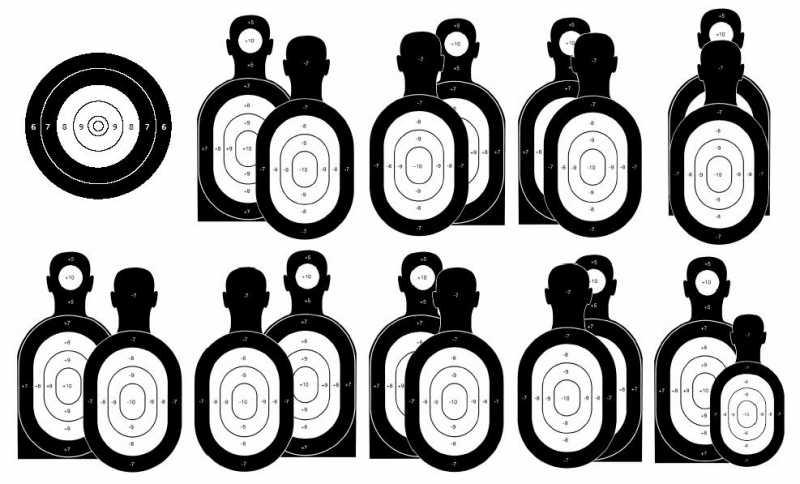 1)Различные испытания по стрельбе