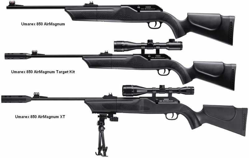 5)Муки выбора пневматической винтовки