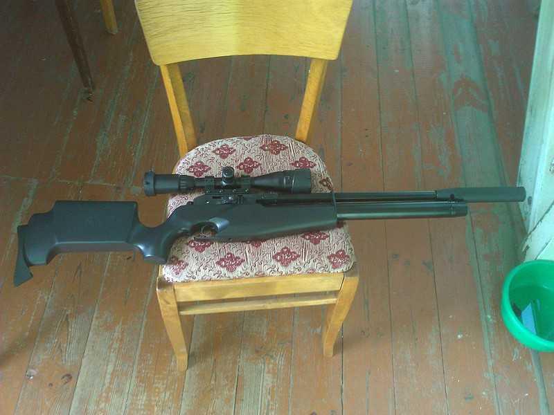 6)Муки выбора пневматической винтовки